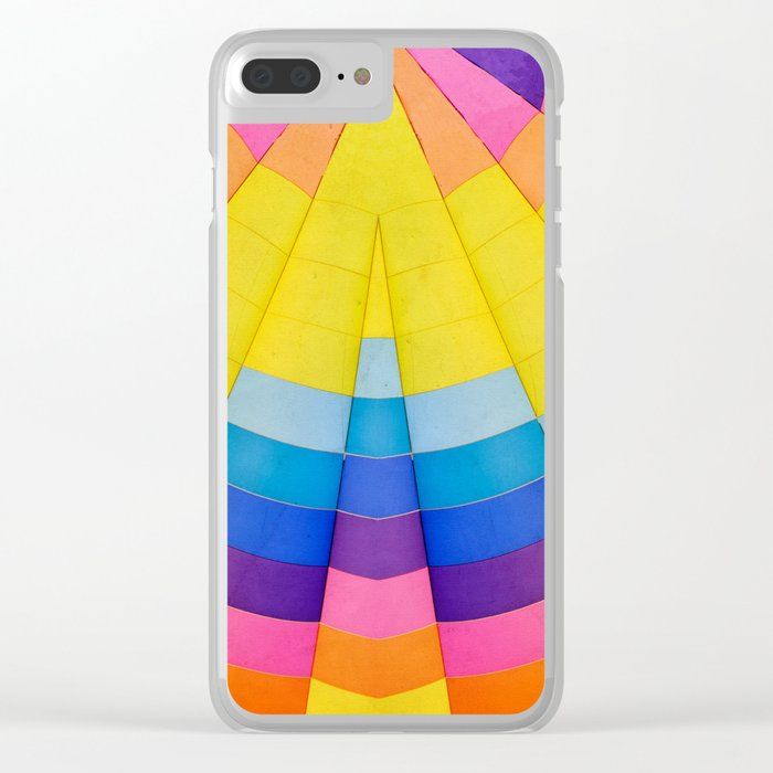 Radial Clear iPhone Case