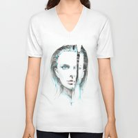 turquoise V-neck T-shirts featuring Turquoise by S'ANNie