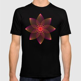 Gradient Strings Blossoms T-shirt
