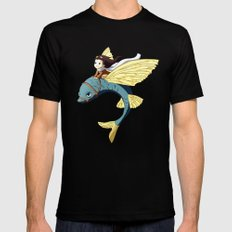 Flying Fish Mens Fitted Tee Black X-LARGE