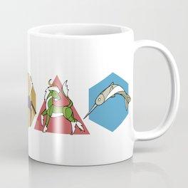 Geometric Unicorns Coffee Mug
