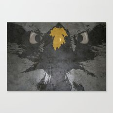 angry eagle Canvas Print