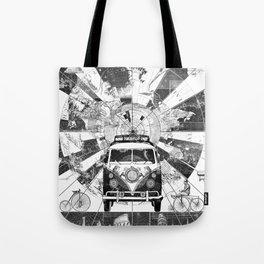 vintage voyager world map design 7 Tote Bag