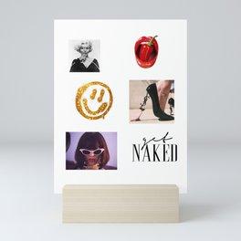Collage mix 05 Mini Art Print