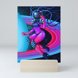 Space Warrior 2 Mini Art Print
