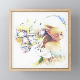 Moon Fairy Framed Mini Art Print