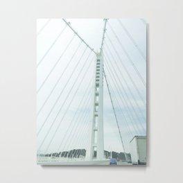 new bay bridge  Metal Print