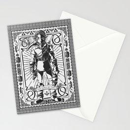 Legend of Zelda - Epic Link Vintage Geek Line Artly Stationery Cards