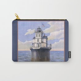 Fourteen Foot Bank Lighthouse, Delaware Carry-All Pouch