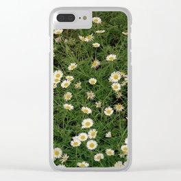 Daisy Garden Clear iPhone Case
