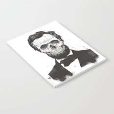 Dead Lincoln (b&w) Notebook