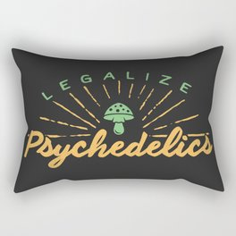 Legalize Psychedelics Rectangular Pillow