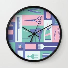 Beauty School Wall Clock