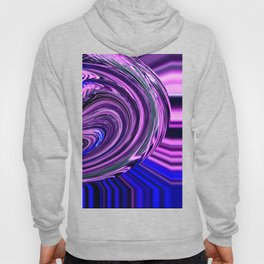BLUE PURPLE ABSTRACTION Hoody