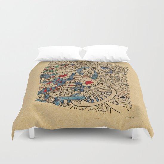 - medieval - Duvet Cover