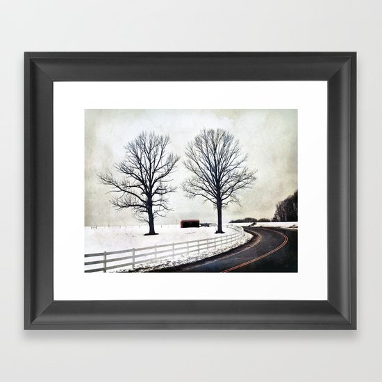 Bended Framed Art Print