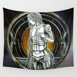 """Astrological Mechanism - Virgo"" Wall Tapestry"