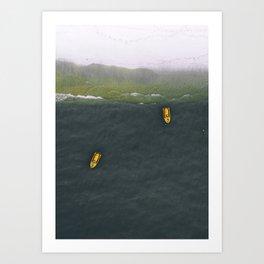 Sea 9 Art Print