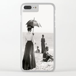 Palm Beahc Floride Clear iPhone Case