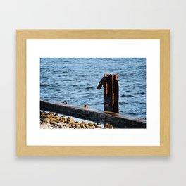 Port St. Joe Marina view 24 Framed Art Print