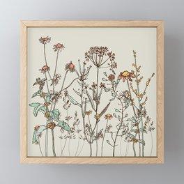Wild ones Framed Mini Art Print