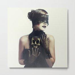 The Widow Metal Print