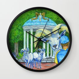 Locals Only  - Chapel Hill, NC Wall Clock