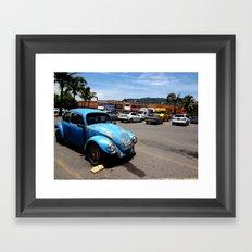 Old VW Buggy Framed Art Print