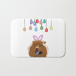 Happy Easter - Chow Chow Bath Mat
