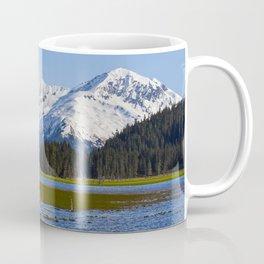 Alaska Mt Range - Spring Coffee Mug