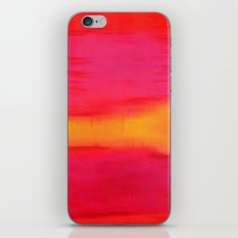 Rothko Inspired III iPhone Skin