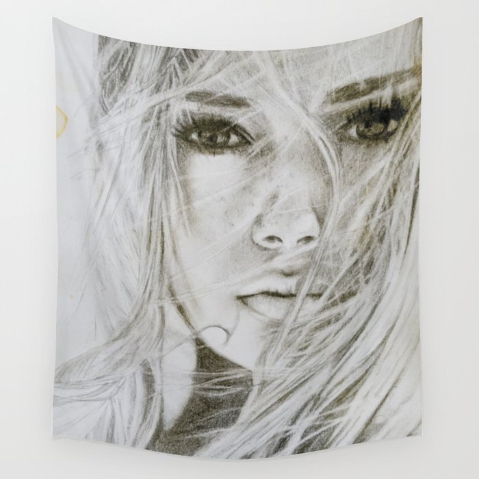 Stay with me Wall Tapestry