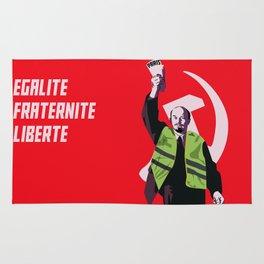 Lenin with  yellow vest Rug