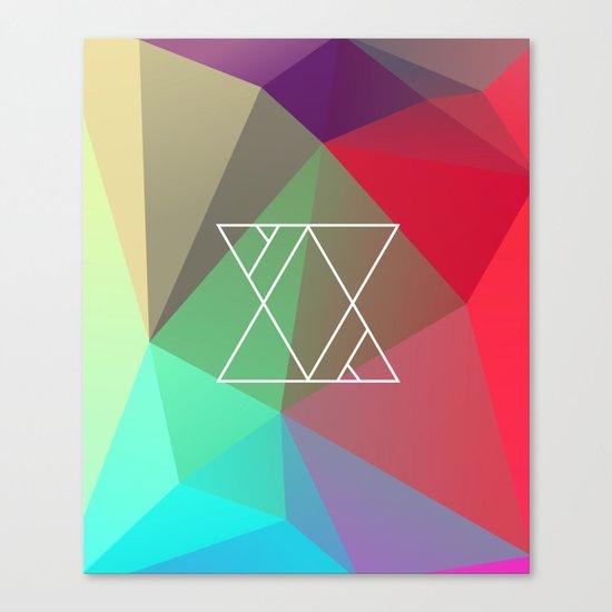 Geometry Canvas Print