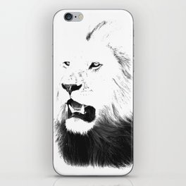 Lion Portrait, Lions of the Masai iPhone Skin