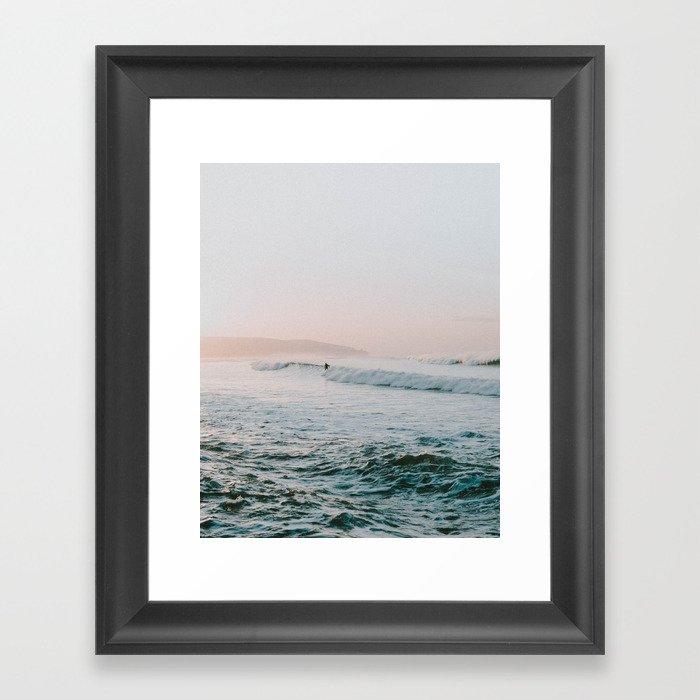 summer waves Gerahmter Kunstdruck