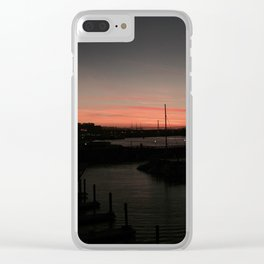 Lurking Darkness Clear iPhone Case