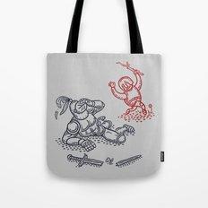 Happy Knight  Tote Bag