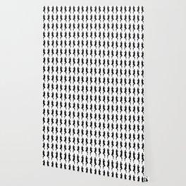 Black Bold Mod GoGo Girls Wallpaper