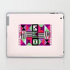Violet Triangulation Laptop & iPad Skin
