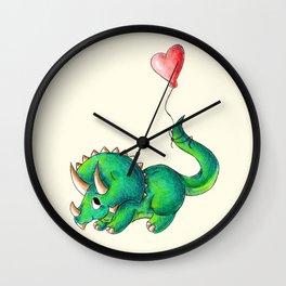 Balloon for Baby (Girl) Wall Clock