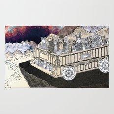 Animals on a Wagon Rug