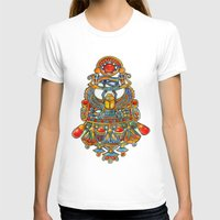 egypt T-shirts featuring Egypt - painting by oxana zaika