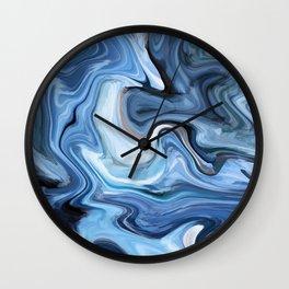Marble texture print Wall Clock