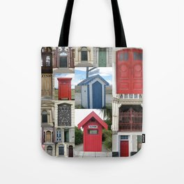 New Zealand Doors Tote Bag