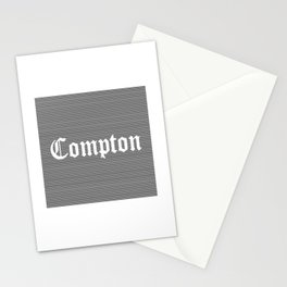 Compton street art Stationery Cards