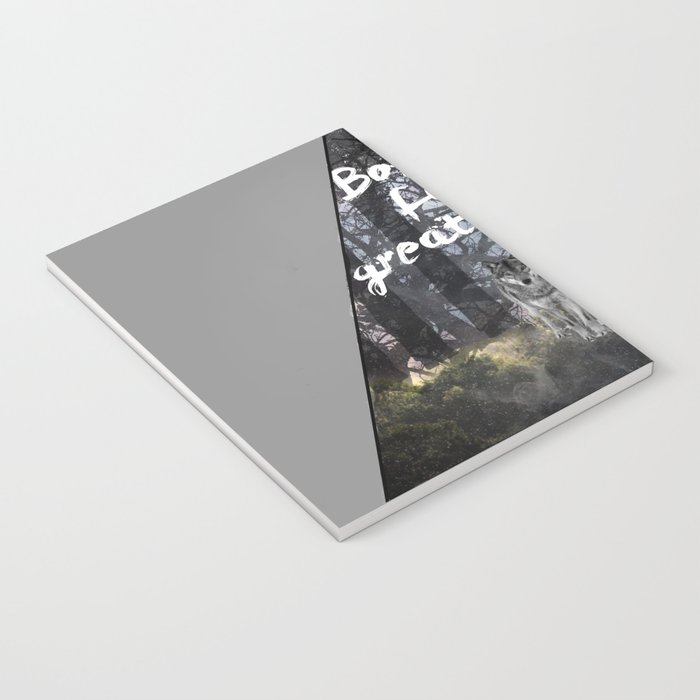 Born for Greatness Notebook