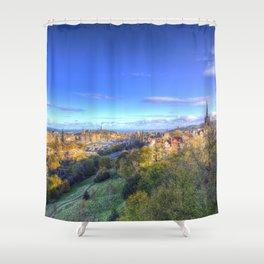 Edinburgh City View Shower Curtain