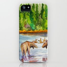 Isle Royale National Park iPhone Case