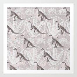 Dinosaure Art Print